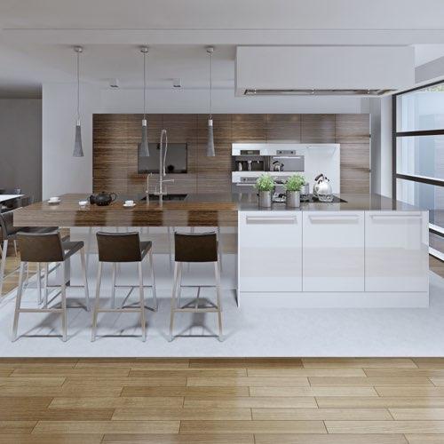 Umzug und Möbelmontage der Wohnküche